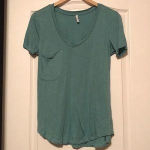 Sage green T-shirt